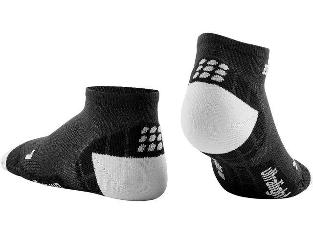 cep Ultralight Calcetines Corte Bajo Mujer, black/light grey